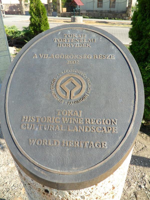 Legyesbénye is part of the world heritage Tokaj wine region