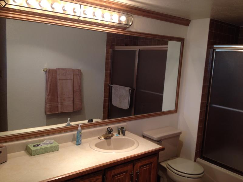 Two full bathrooms.  One attached to each Master Bedroom.
