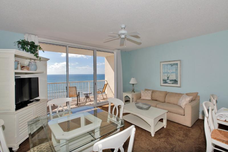 Gorgeous Gulf Views from the Living Area