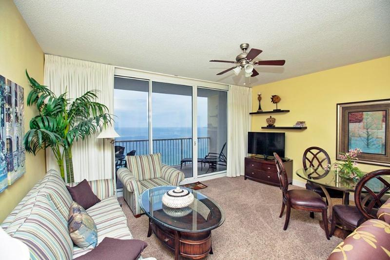 Salón con vistas al Golfo