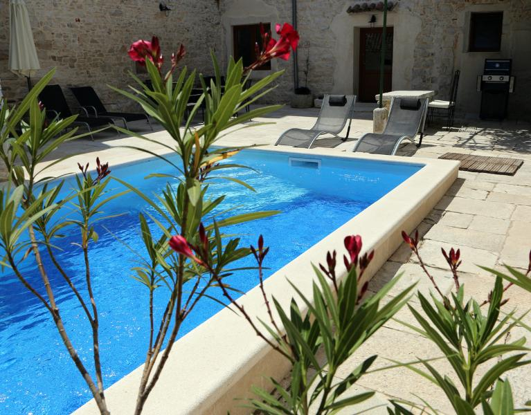 Inner courtyard with pool