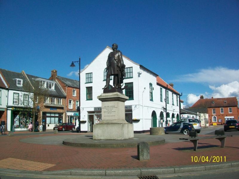 Spilsby John Franklin statue