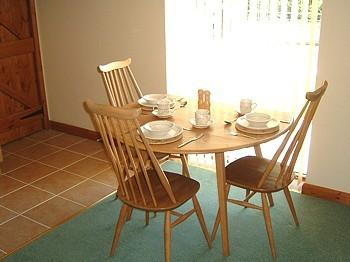 Dining area of lounge-kitchen-diner