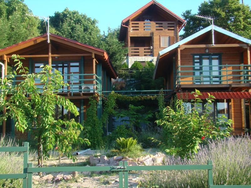 Zeus-village house complex Chalet Thaleia, holiday rental in Polidrosos