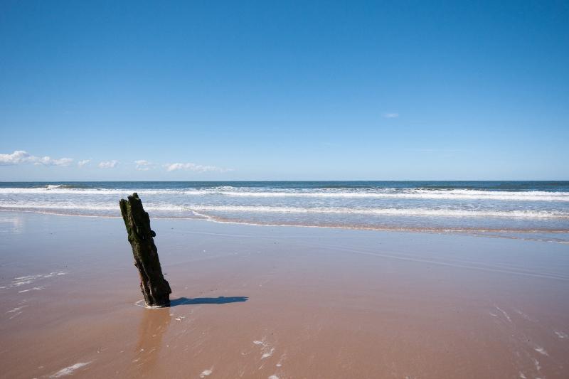 Brancaster Strand, breit und sandig, Platz für alle!