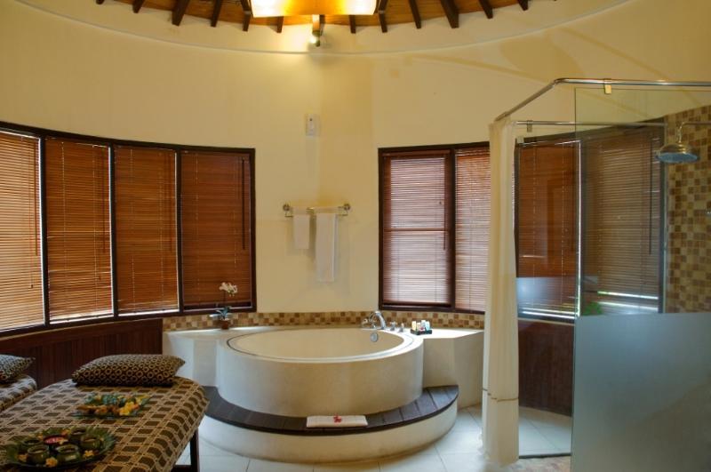 Villa avec deux chambres une salle de bains