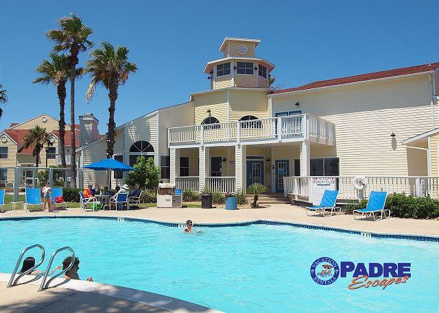 Beach Club's sparkling pool