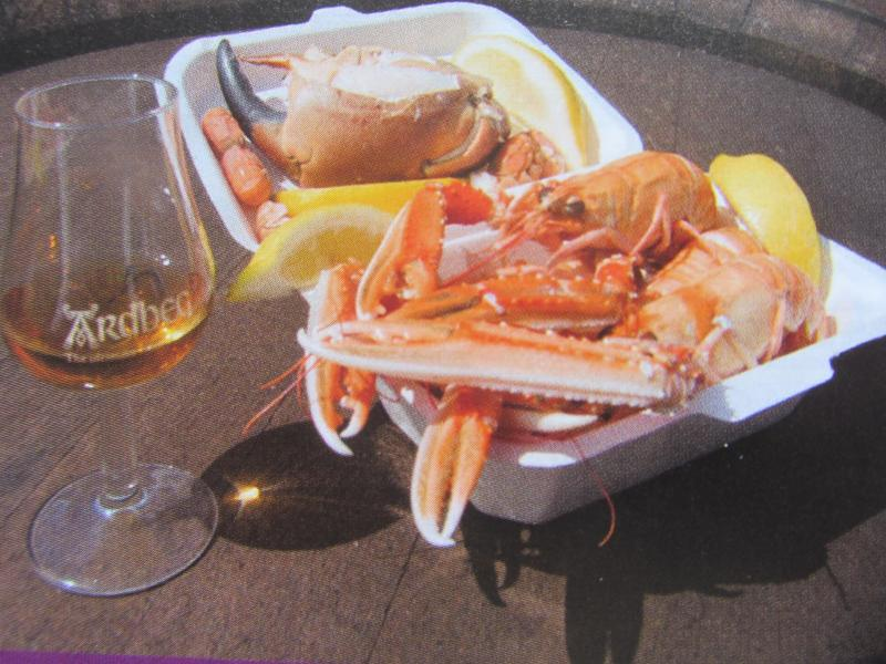 Oban the sea food capital of the UK, try it