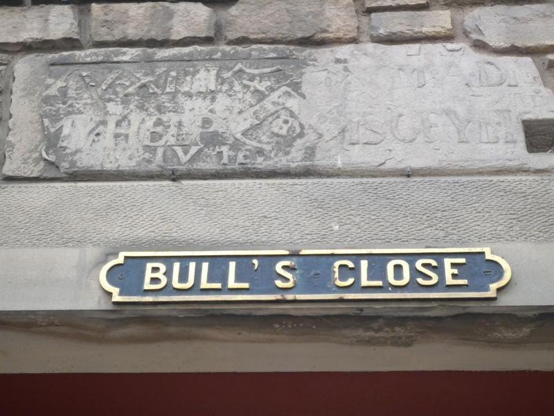 Bulls Close, The Royal Mile