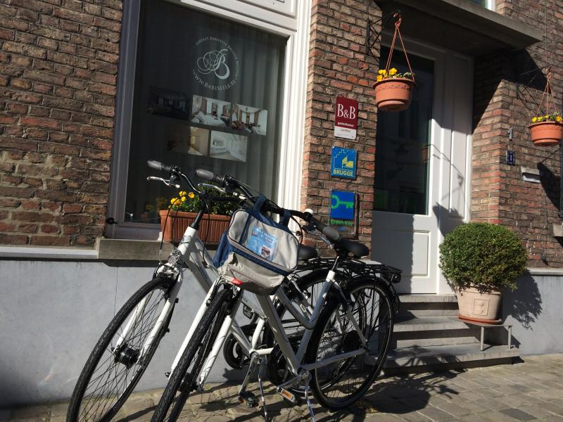 Bicycles available during season