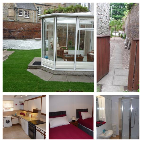 9 Argyle Court Garden Flat, holiday rental in St Andrews