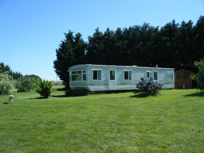 The caravan/mobile home
