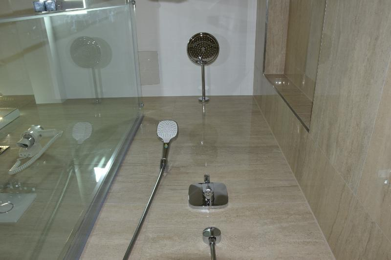 Overhead shower/shower