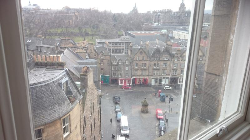 view on west bow from apartment