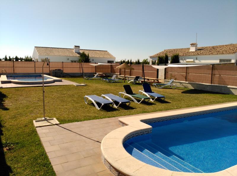 Zona común, piscinas compartidas