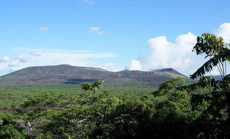 View of volcano Masaya