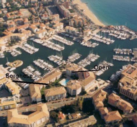 Bord de mer Port Fréjus, plage 3' à pied, piscine, vacation rental in Fréjus