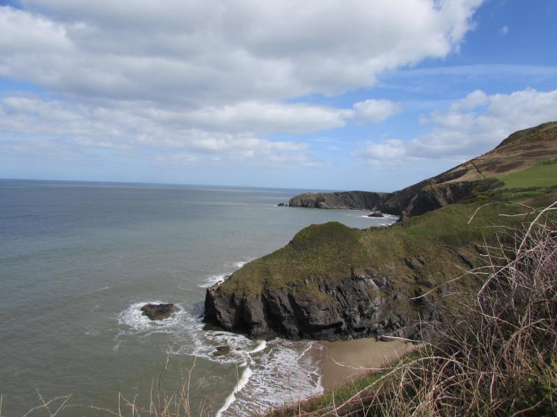 And the wonderful Cardigan Bay coast, just 20 minutes away. Try the coastal path.