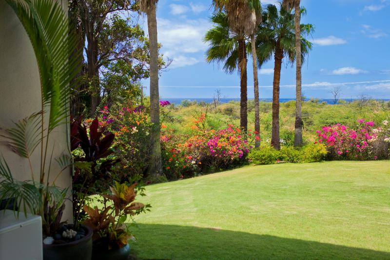 Keawakapu Ocean View, renovated green 2BR 2B, holiday rental in Kihei