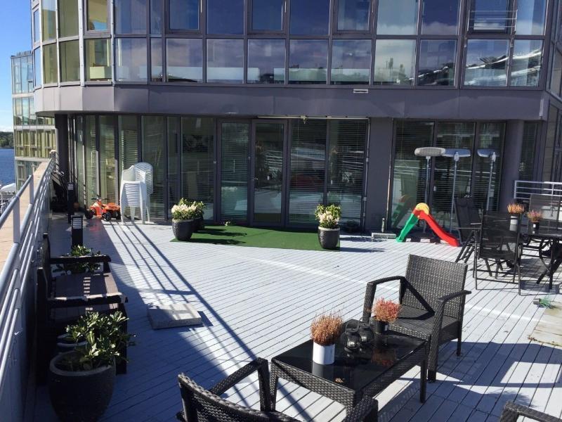 La terraza principal