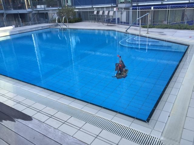 Access to heated community pool