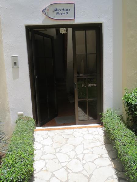Entrance door to building