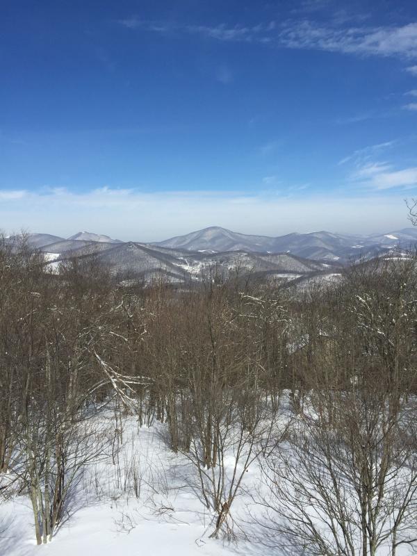 Amazing!!! mountain views - Winter