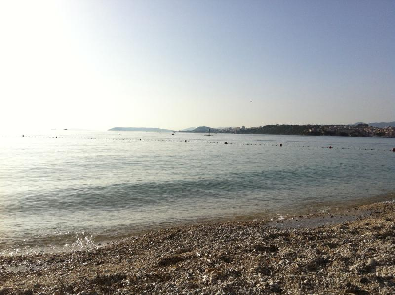 Le Meridian Hotel's beach, 15 minutes walk from apartment
