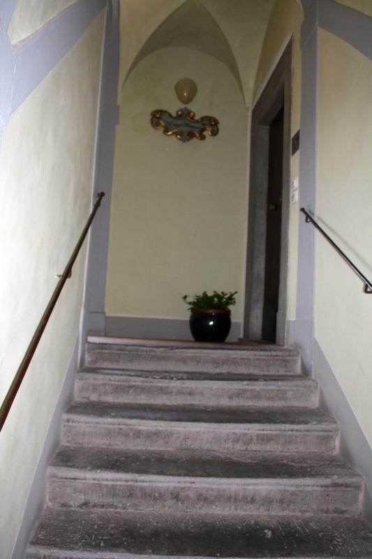 La scala del palazzo.