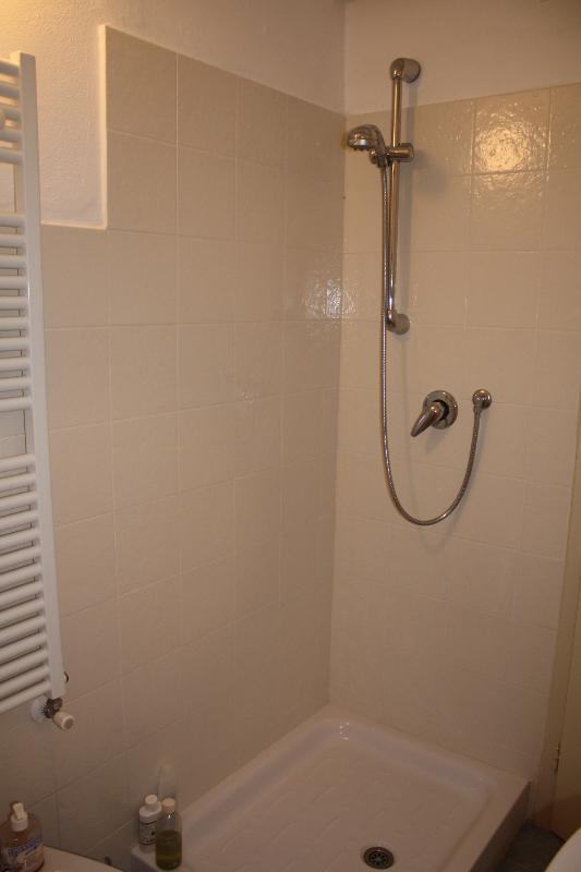 Una delle due docce