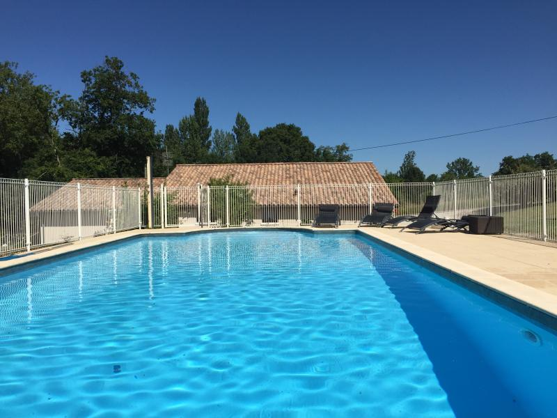 Le Roc private fenced pool