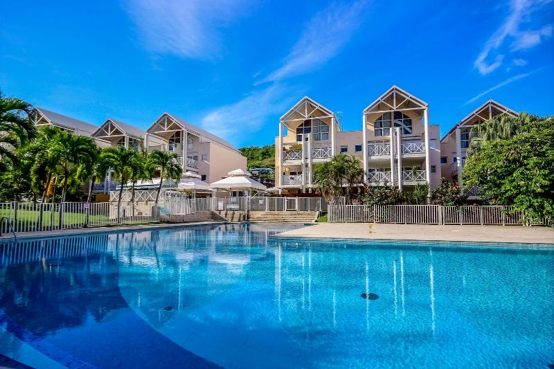 Le Chadec apartment with pool at the Diamond, Martinique
