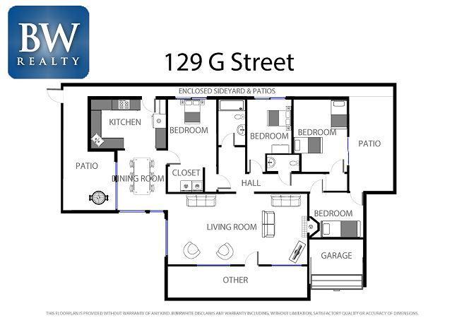 129 G Street Floorplan