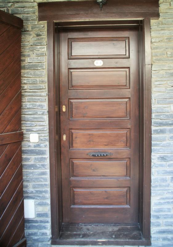 Porta apartamento B4