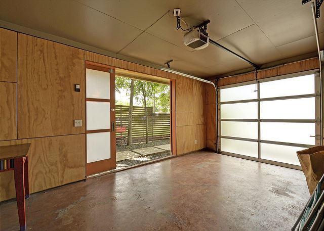 Garage & Yard Access