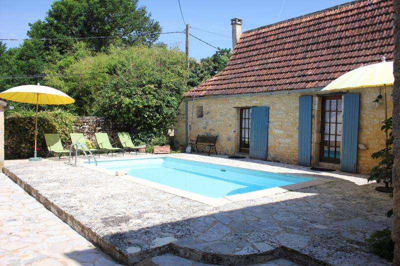 The Gîte and swimming pool