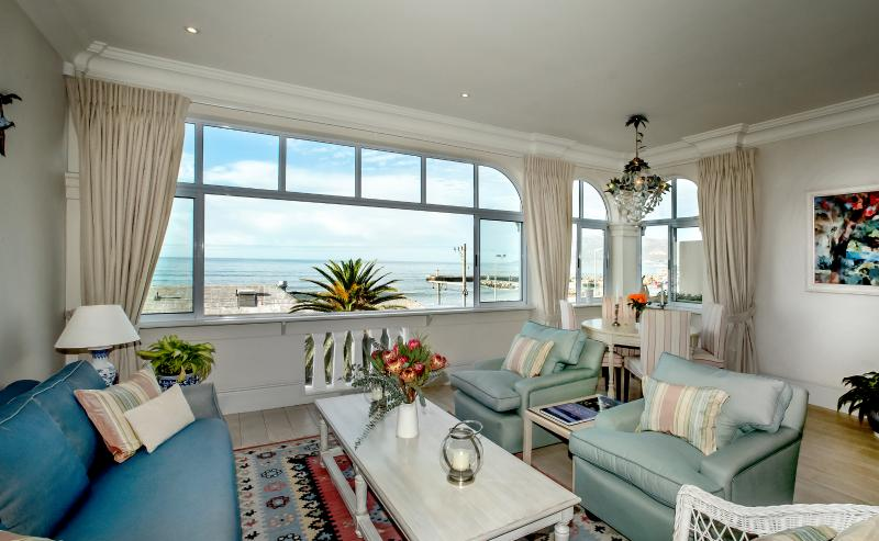 This fabulous view changes every day with the mood of the sea. A place to chill and be enchanted.