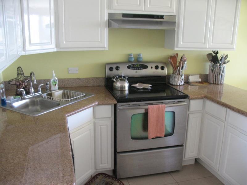 La cucina completamente attrezzata