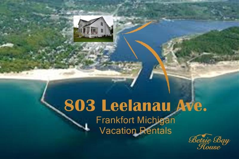 Walking distance to everything!  2 blocks from Betsie Bay & 8 Blocks to Lake Michigan