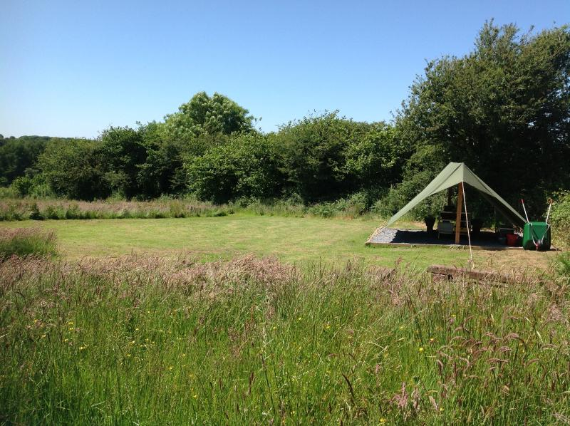Dandelion Pitch - COASTAL WOOD CAMPING, holiday rental in Amroth