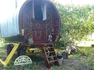 Gypsy Rose traditional authentic bow-top wagon