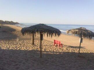 La spiaggia San Giorgio a 150 m dalla villa