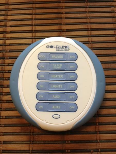 Pool/Spa remote.