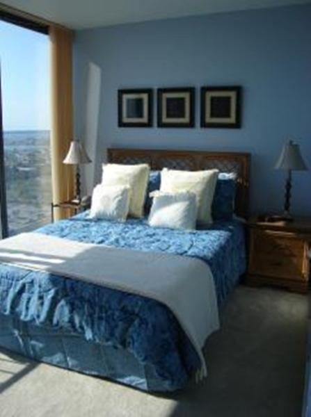 Top floor Suite with private bath - wall to wall views of the bay!