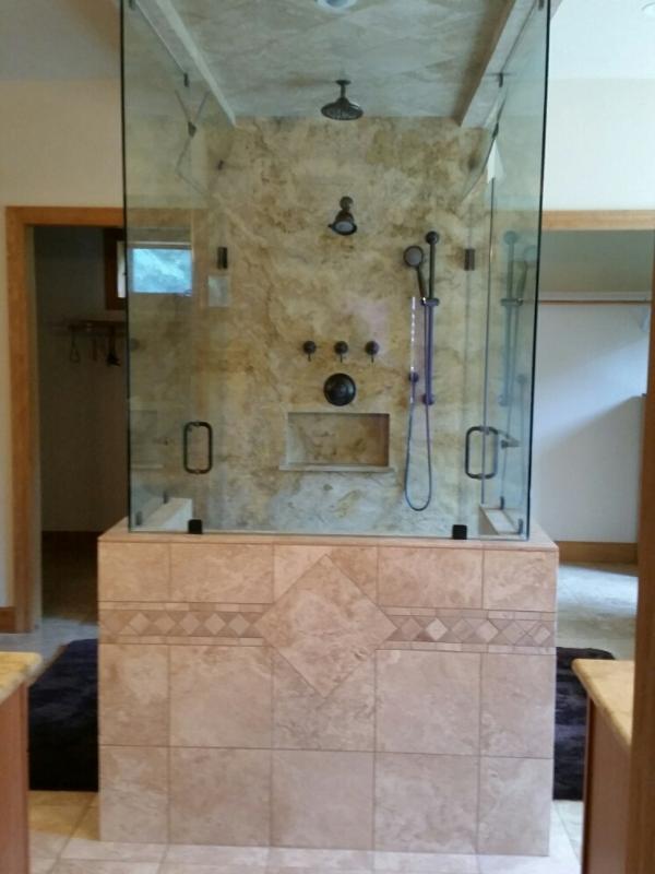 Master Bath Suite at Glacier Tamarack Grand