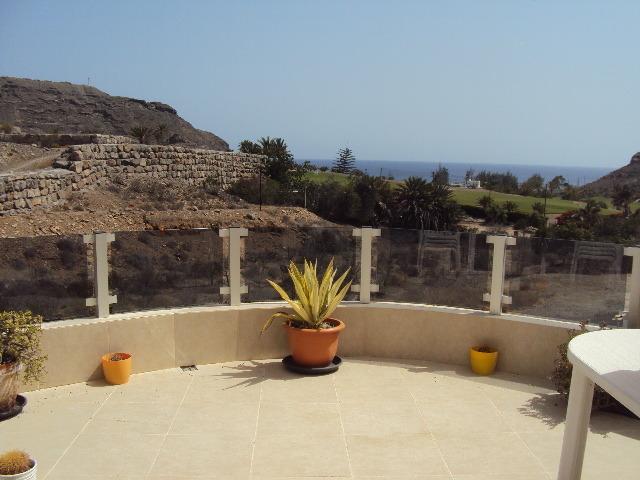 Large wrap-around terrace.