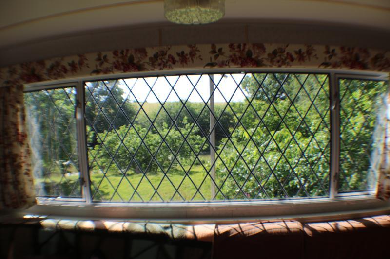 Vista exterior desde el salón