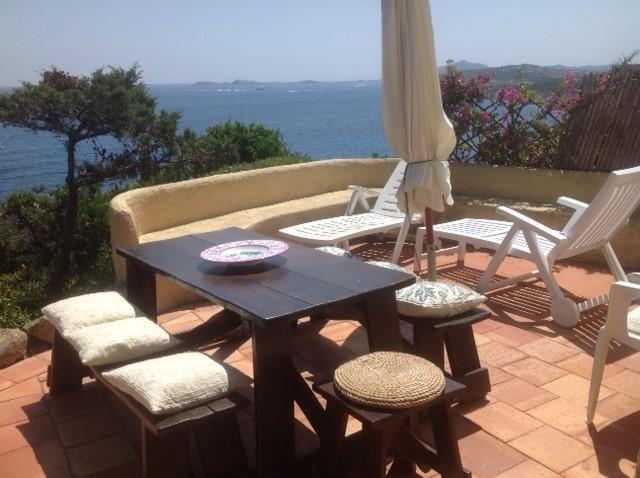 Sea view cozy flat, holiday rental in Poltu Quatu