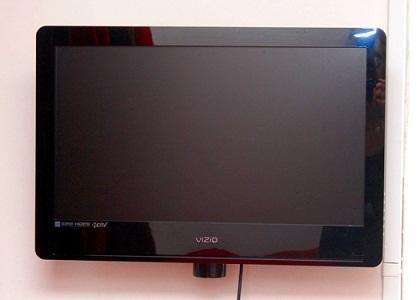 32' LCD TV.