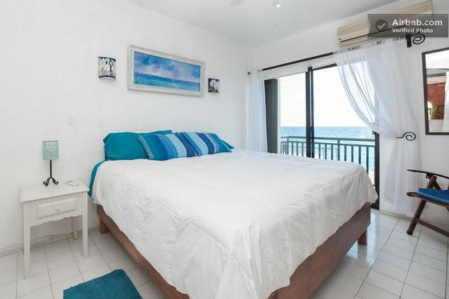 Cool caribbean views with large king size bed